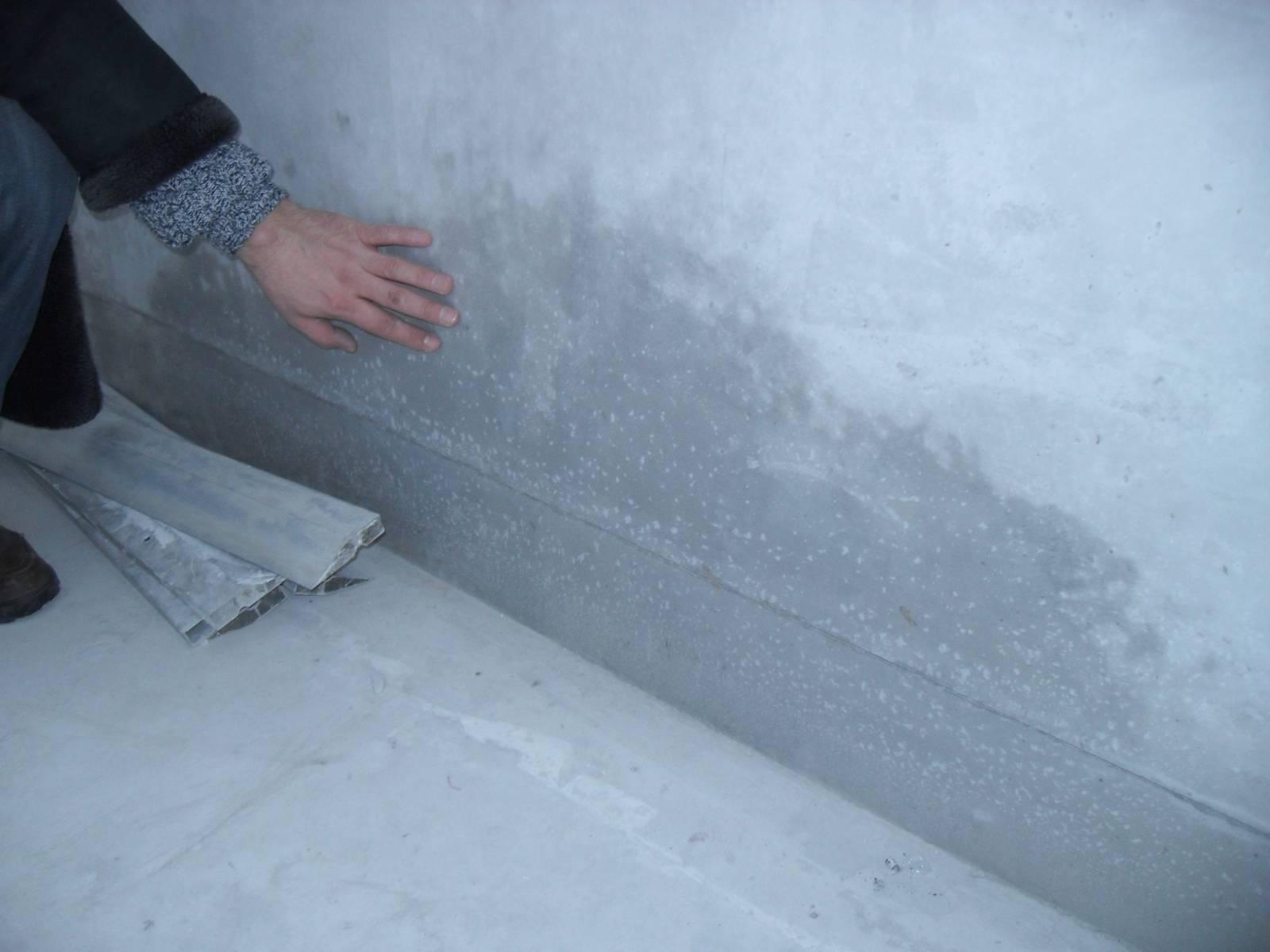 Гидроизоляция стен балкона..