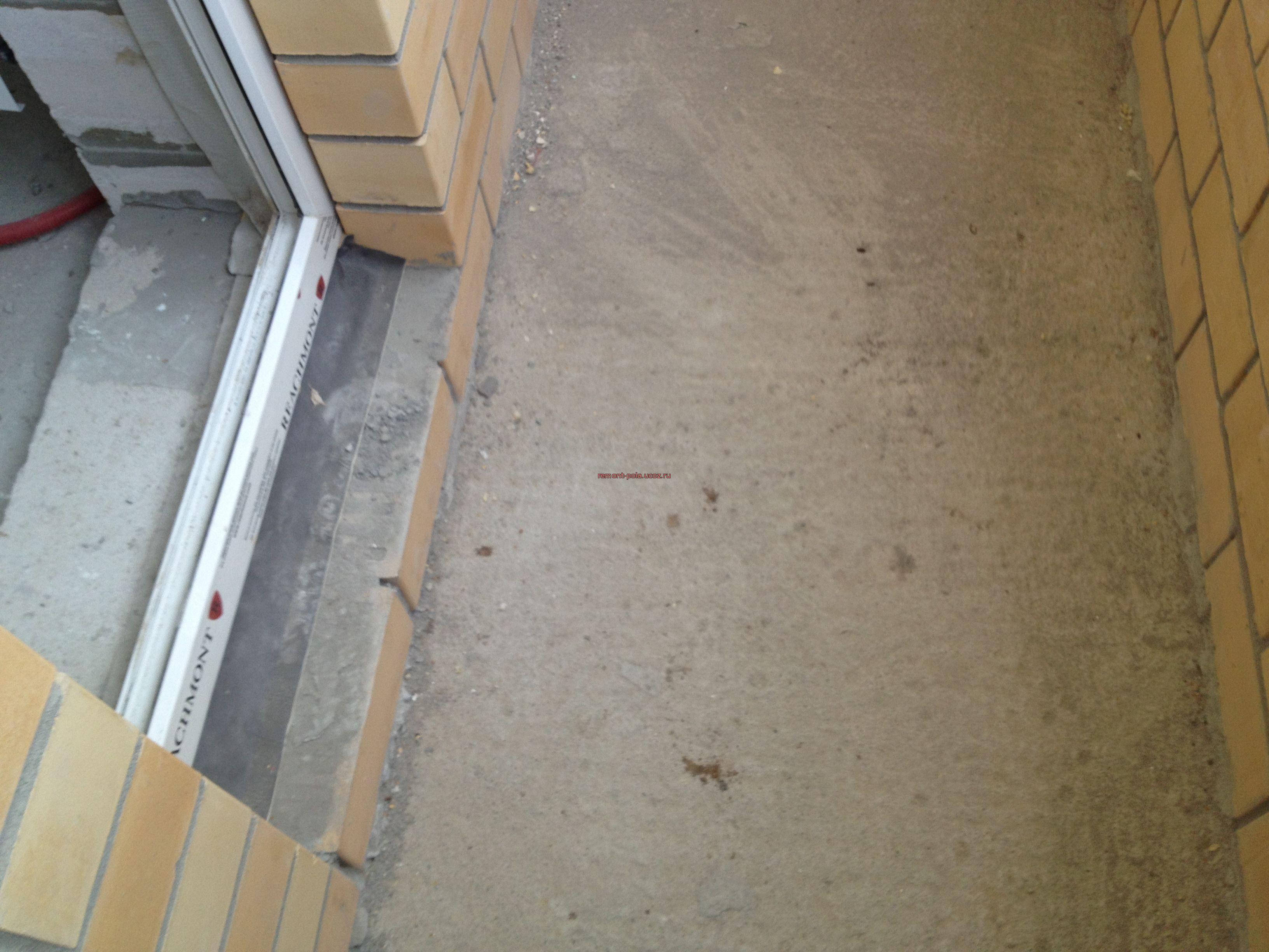 Теплый пол для лоджии - пол на балконе !--if(ремонт полов)--.