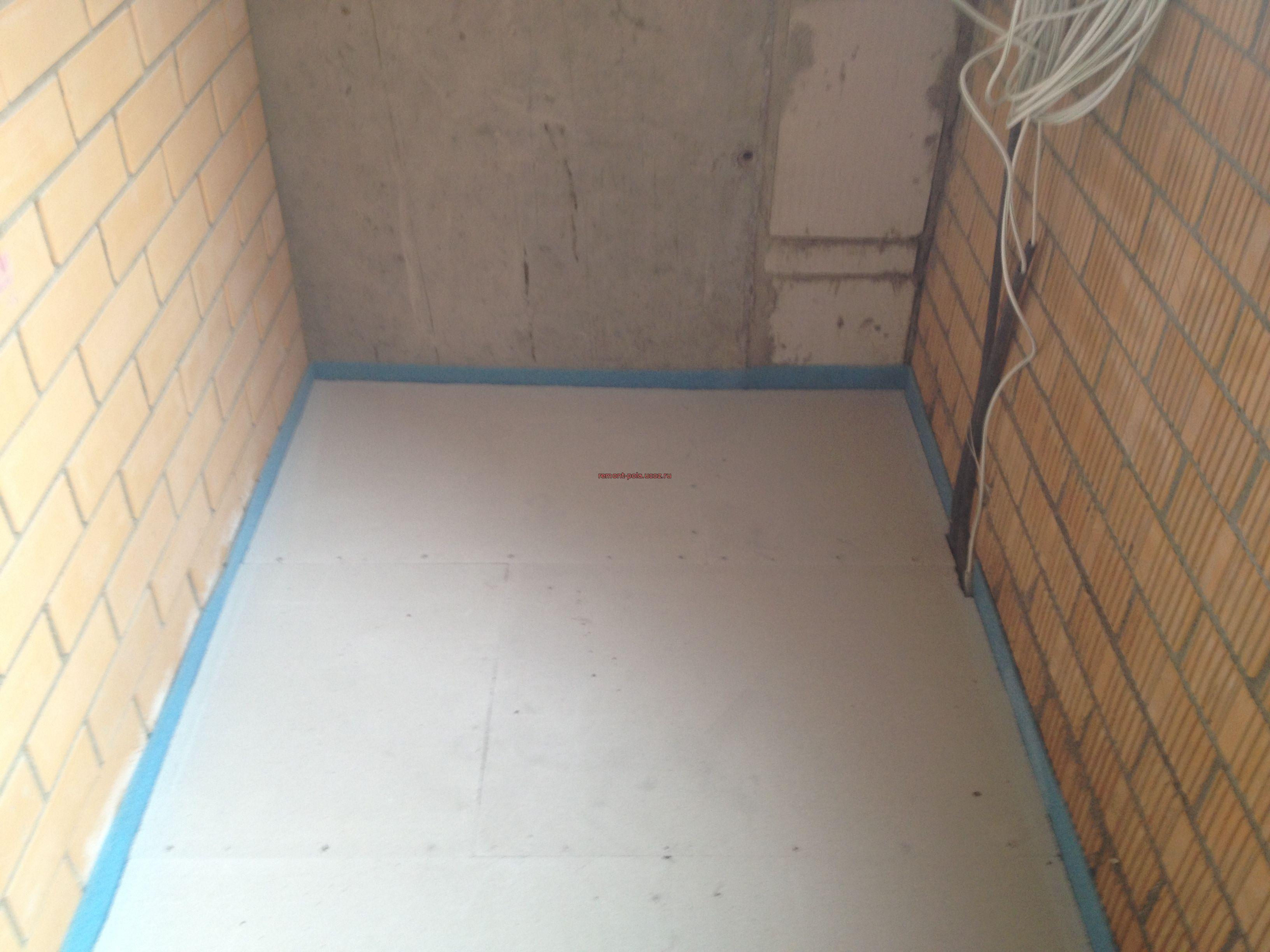 Как сделать пол на балконе или лоджии: выбор материала.