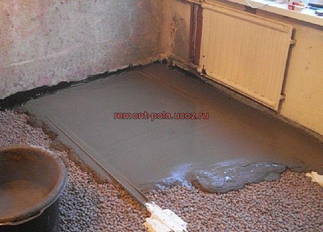 Наливной пол на бетон слышимость гидроизоляция антисептик для бетона
